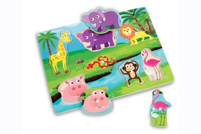 Addo Woodlets Lifting Puzzles Recall