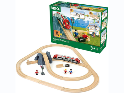The BRIO Railway Starter Set