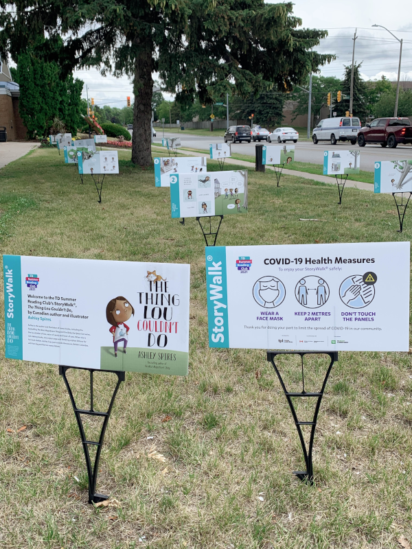 TD Summer Reading Club 2021 Launches A New Outdoor Activity: StoryWalk®