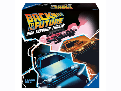 Back to the Future: Dice Through Time By Ravensburger