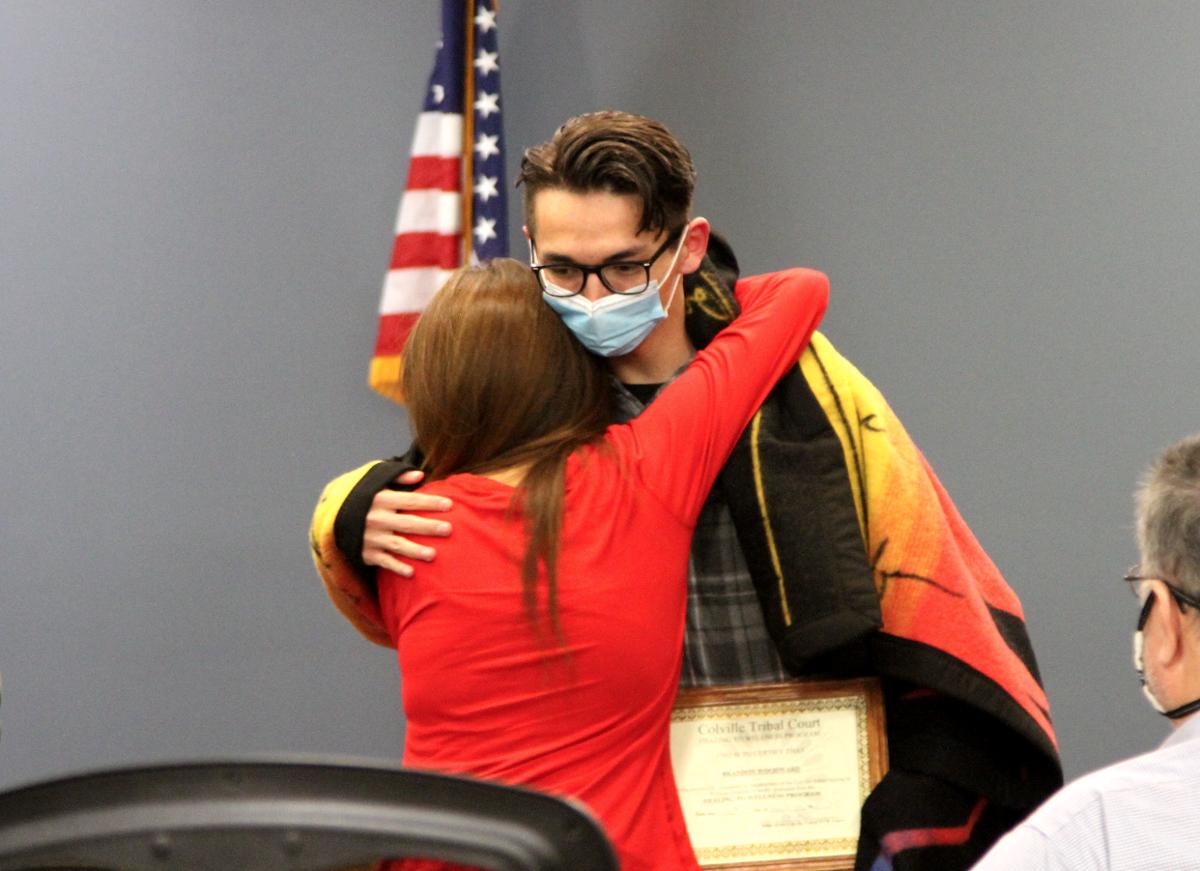 Woodward graduates from Healing to Wellness Program
