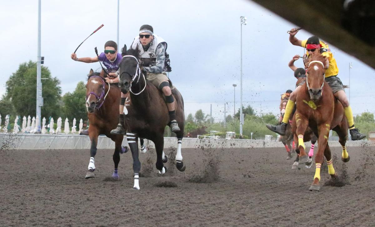 Action shots from the championship race of the third annual Muckleshoot Gold Cup at Emerald Downs racetrack in Auburn, Wash from June 8-10.