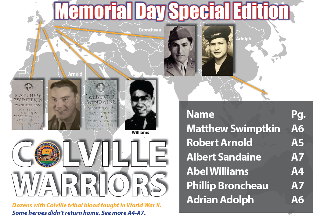 Colville Warriors: Dozens enlisted. Some heroes didn't return home.