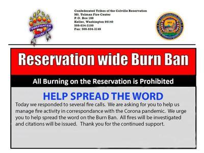 Reservation Wide Burn Ban, MTFC