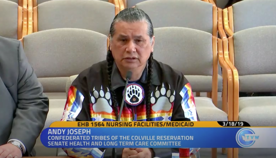 Nicholson, Joseph testify in support of state bill set to improve tribal convalescent center billing structures
