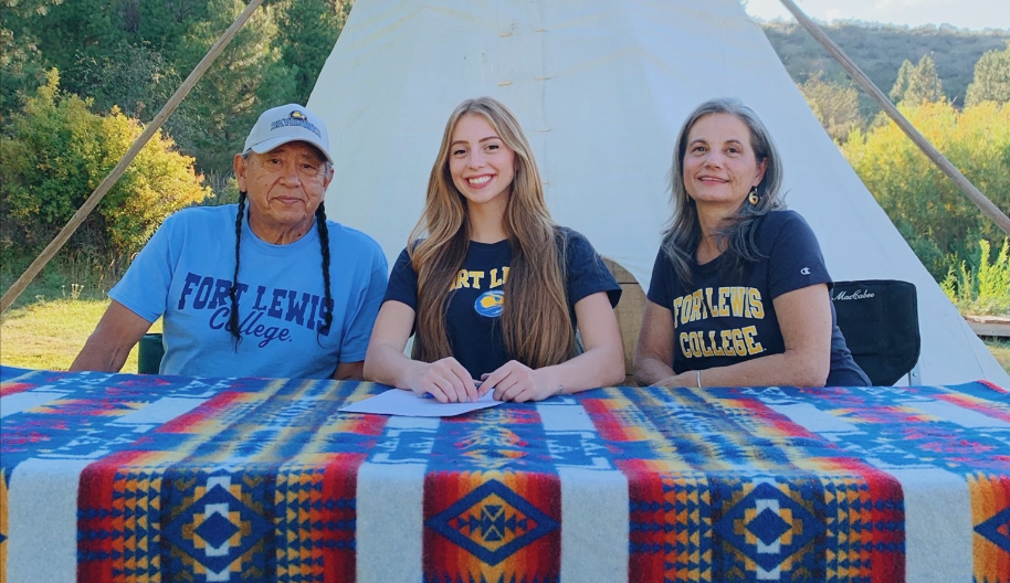Moore signs with Fort Lewis College soccer team