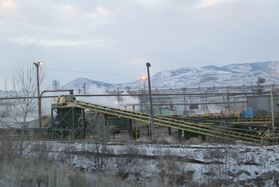 Operator Omak Forest Products will no longer occupy the tribally owned plywood and veneer mill after Jan. 29. Company handed out notices of termination to employees earlier this month.
