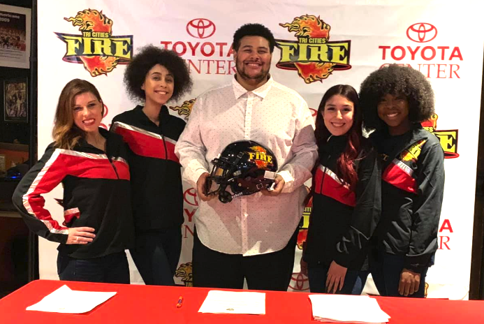 Meusy signs with Tri-Cities Fire