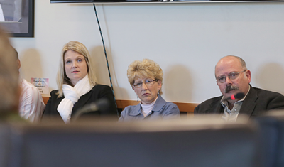 Washington lawmakers Rep. Jacquelin Maycumber (R-5th), Sen. Shelly Short (R-5th) and Rep. Joel Kretz (R-th) visited Colville Business Council Chambers, Oct. 10.