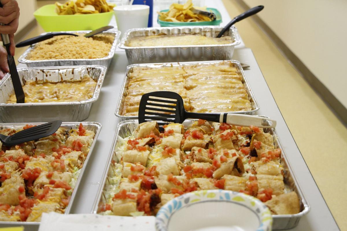 Today's platter, provided to Colville Service Unit staff by 12 Tribes Colville Casino.