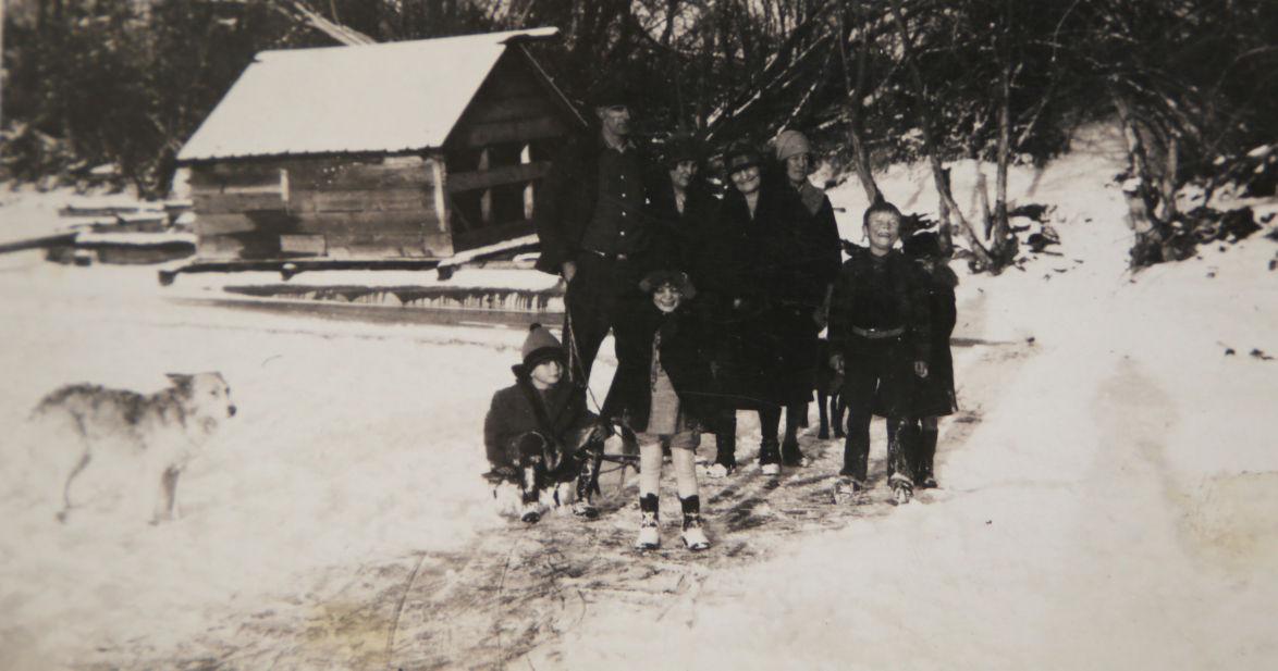 Marlow Johnston's upbringing at Owhi Lake