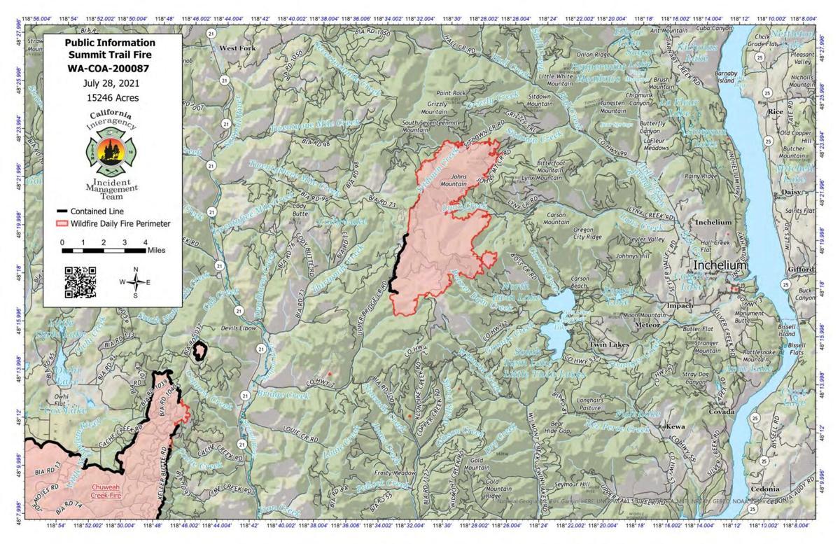 Summit Trail Fire, July 28