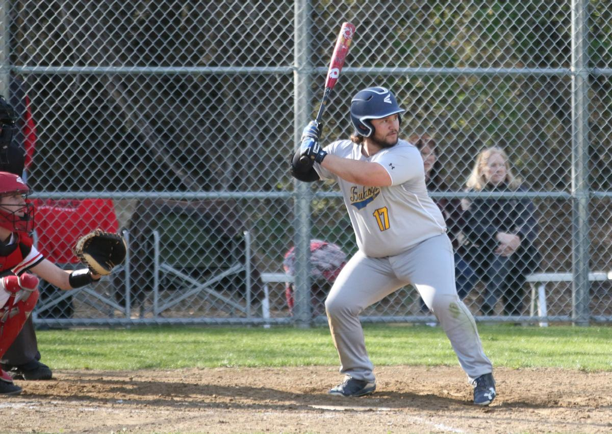 Leo Clendennen of Kettle Falls gets ready to bat against St. George's on Friday (April 26) afternoon
