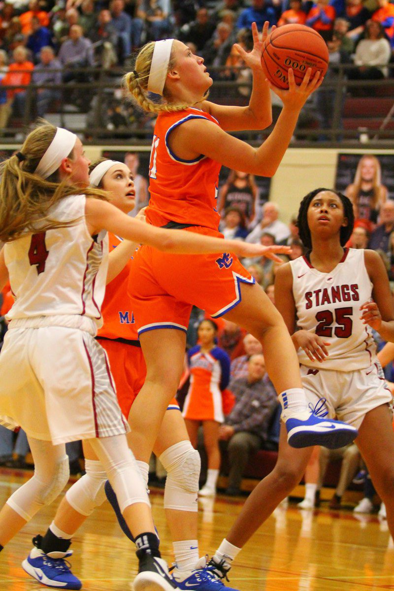Lady Marshals take 'W' over Mustangs at Strawberry Hills Pharmacy Arena