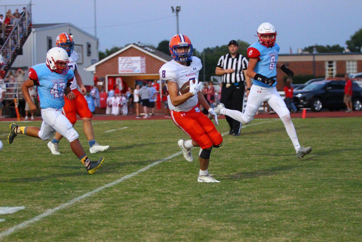 Marshals take a fourth quarter win over Lakers