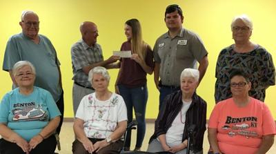 Business donates BBQ on the River proceeds to senior center