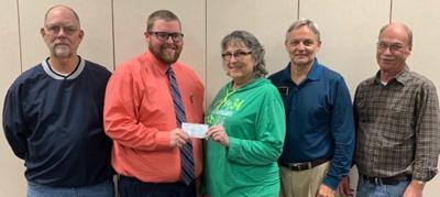 Lions Club donates to Needline