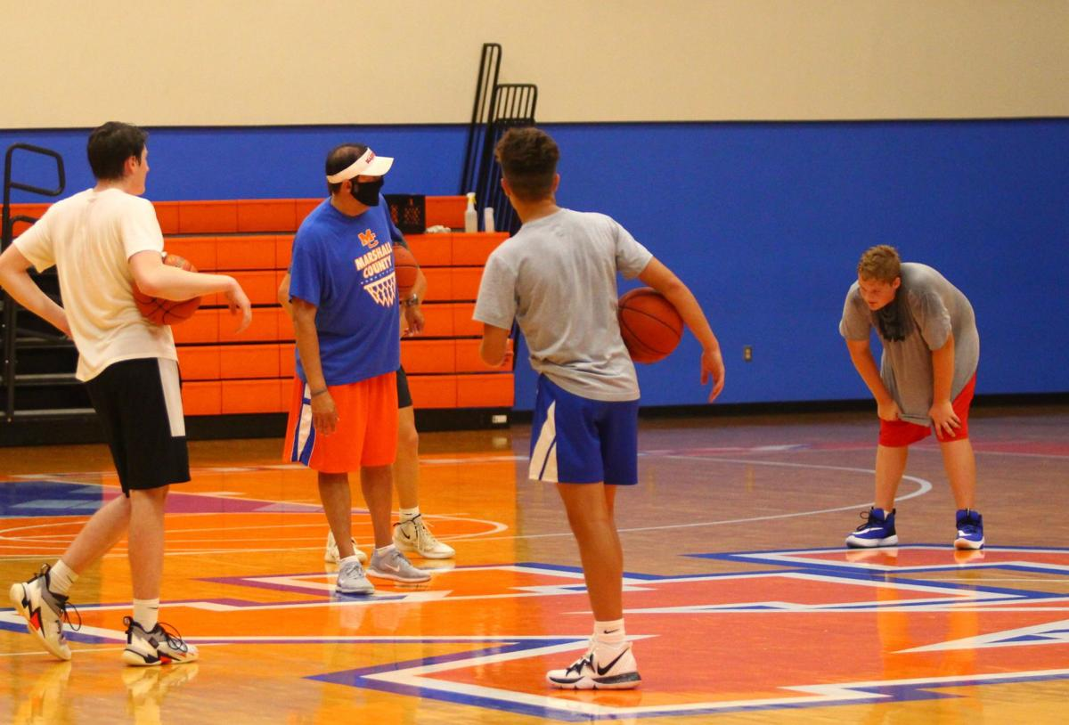 Marshall County students return to practice for fall sports