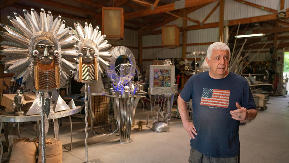 Marshall County sculptor to have exhibit at Discovery Park
