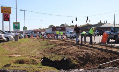 Road improvements ongoing in Benton