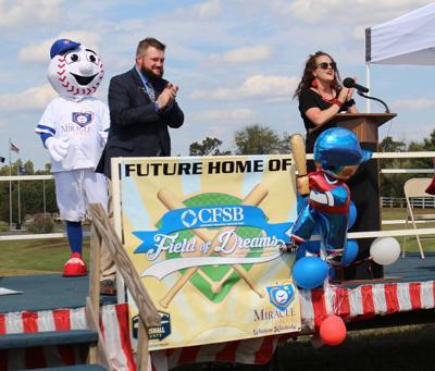 MC Parks unveils CFSB Field of Dreams