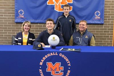 Powell signs letter of intent to join the Murray State University golf team