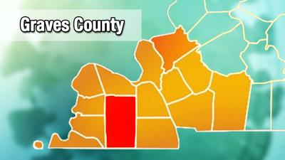 Graves County COVID-19 map