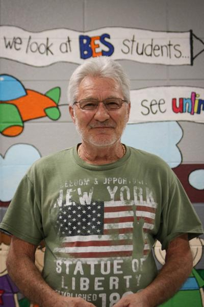 BES's 'Mr. Terry' finalist for National Custodian of the Year