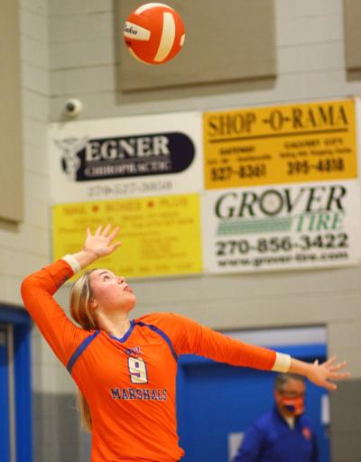 Marshall heads into final volleyball week before postseason - photo