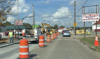 Main St. Road work