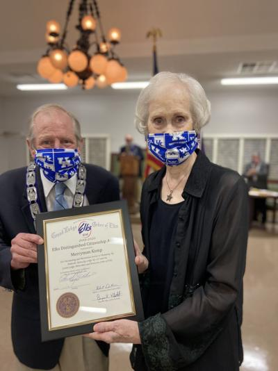 Merryman House founder named Elks Distinguished Citizen of the Year