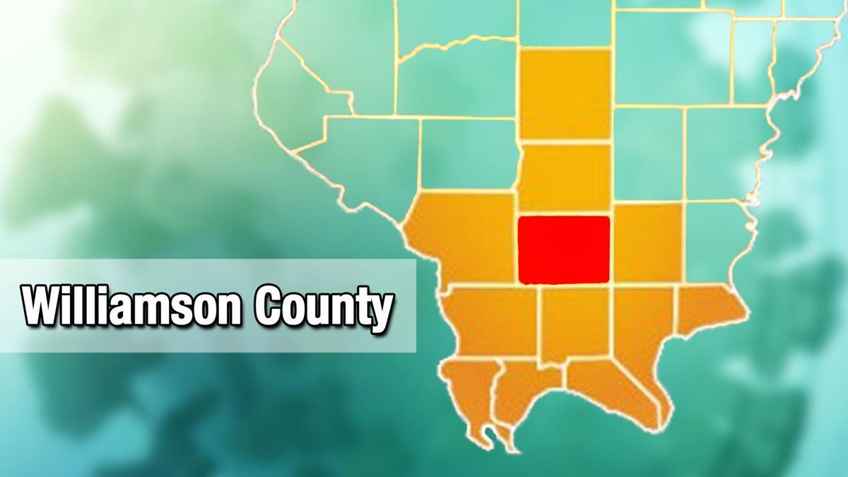 Williamson county COVID-19 map