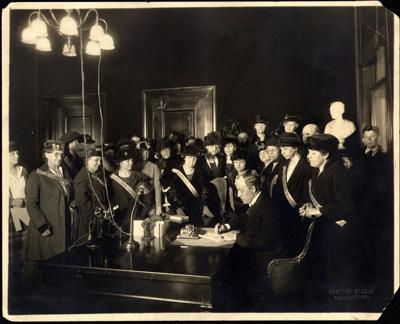 'Rightfully Hers' exhibit honors 19th Amendment passage - photo 2