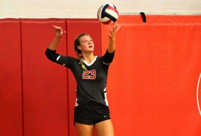 Seniors put up big volleyball numbers