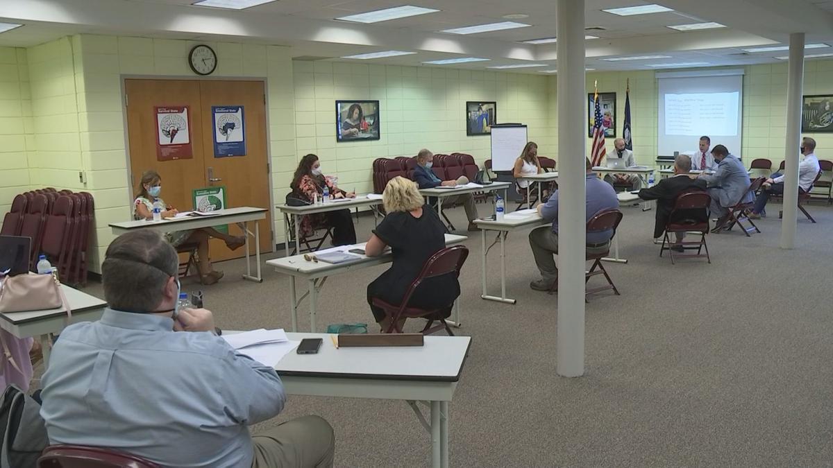 McCracken County School board meeting
