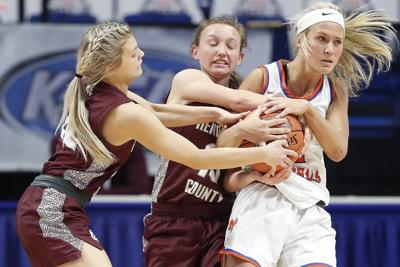 Lady Marshals take control in semis to reach title bout tonight