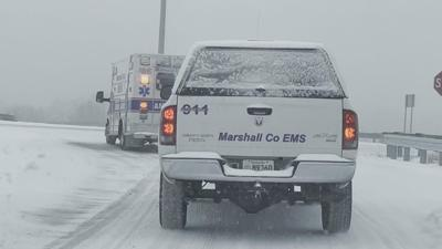 Local law enforcement monitoring roads to keep people safe during winter weather