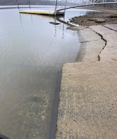 Big Bear boat ramp closed for repairs image