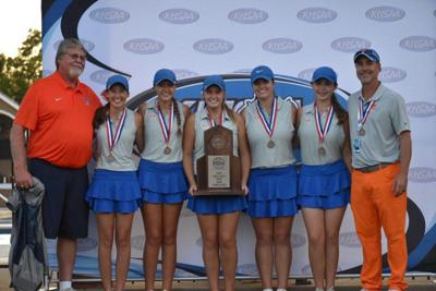 Lady Marshals golf wrap season third