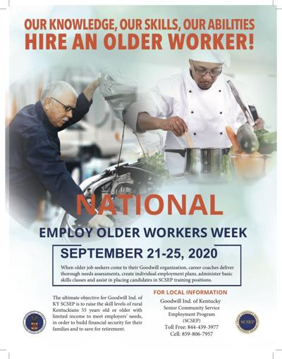 Goodwill Industries of Kentucky Celebrates National Employ Older Workers Week