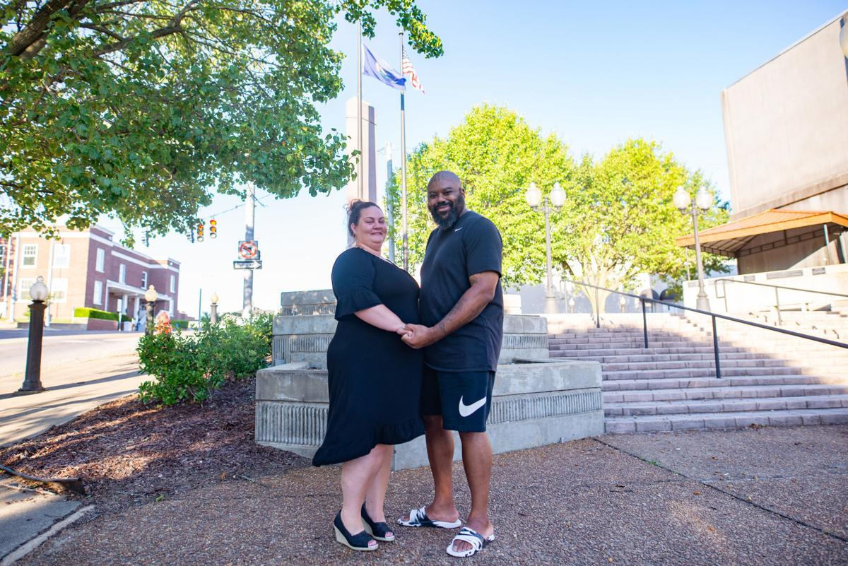 'We just can't give up': Benton family pursues equality through protest, conversation
