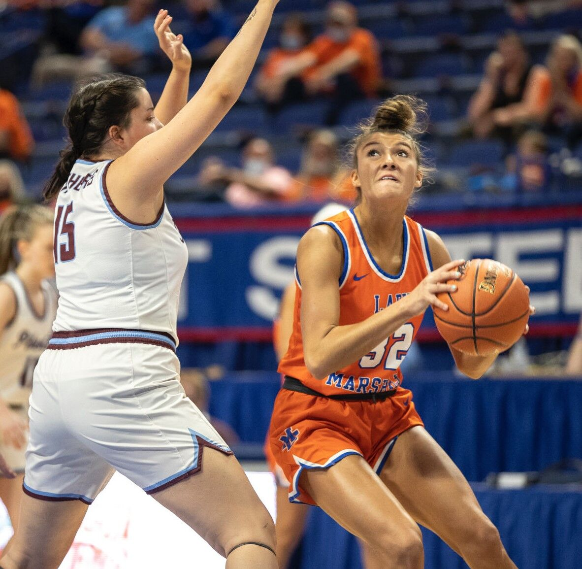 Lady Marshals withstand physical storm from Pikeville