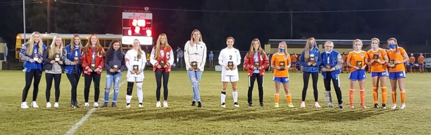 Marshall sweeps soccer crowns
