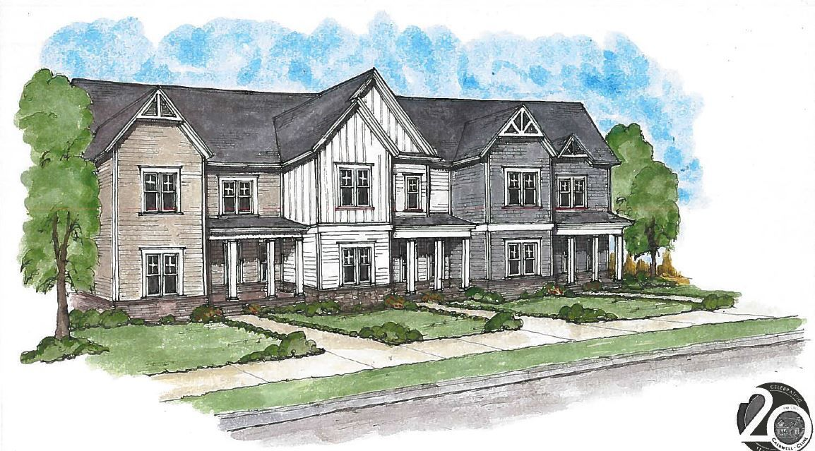 Mableton town home rendering z-44-2019