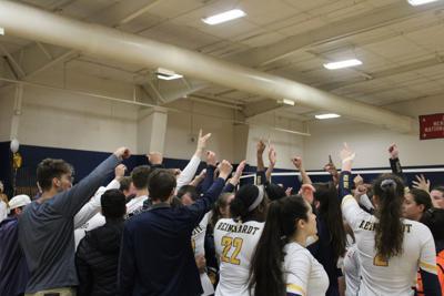 Reinhardt volleyball team sweeps through first round of NAIA tournament