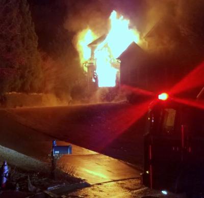 BridgeMill house fire 1