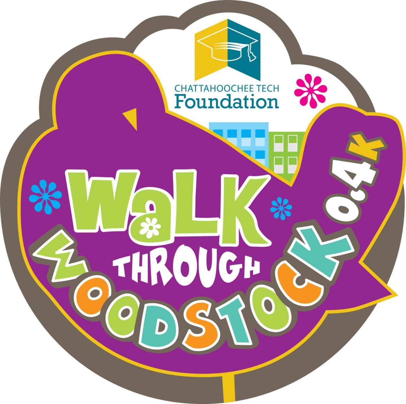 Walk Through Woodstock logo 4c