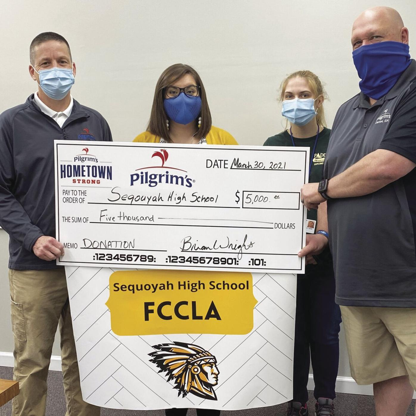 Sequoyah HS FCCLA Donation.jpg