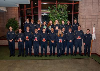 Fire explorers bring home 10 awards from annual competition
