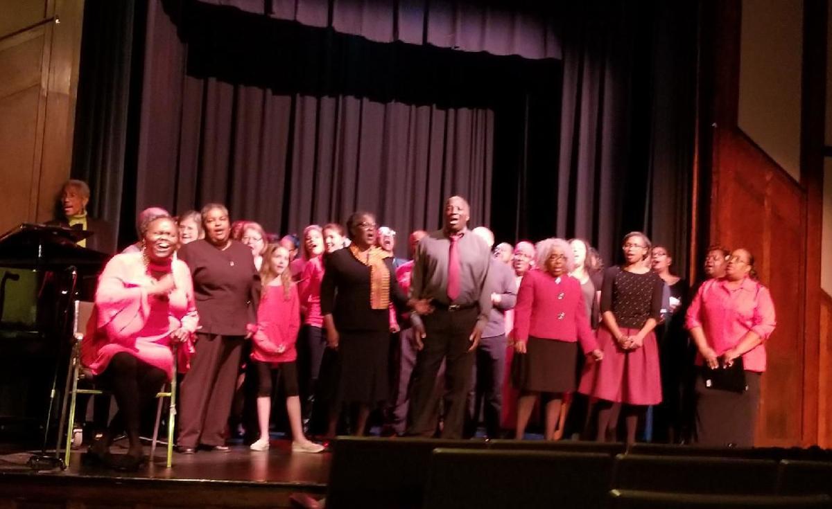 Gospel Fest choir